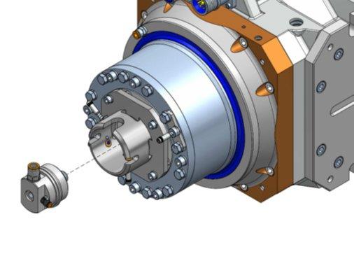 Rotorsystem, nuovo giunto esterno a tenuta per i modelli VA25 e S125
