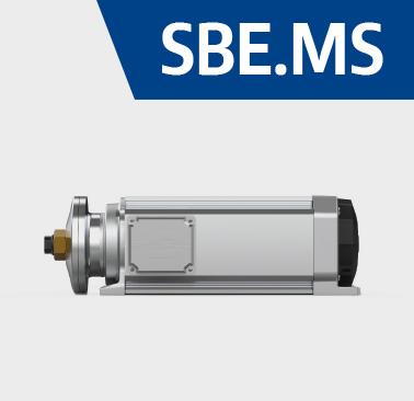 elettromandrini per taglio e fresatura servoventilati SBE.MS